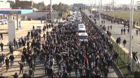 News video: Thousands gather in Turkey for slain Kurds' funeral